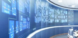 Control room SCADA for network management