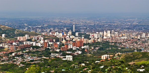 Cali Colombia smart grid project