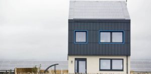 The 3-bedroom carbon positive home in Wales cost £1,000 per square metre to build. Pic credit: www.express.co.uk