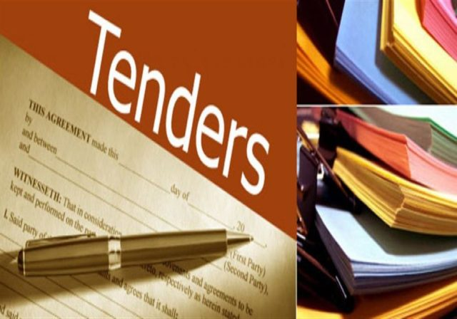 electric meters tender