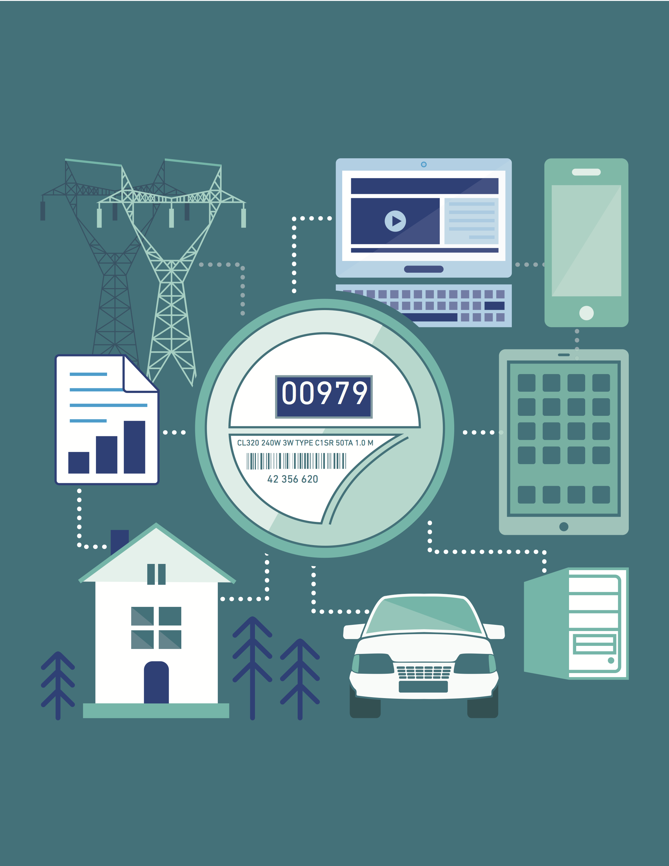 smart meters Smart meters do not collect, store, or transmit any personal information like a traditional meter, the only information collected is the amount of energy you use, and all your energy usage information is.