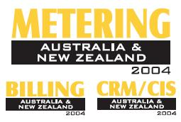 Metering, Billing, CRM/CIS Australia and NZ 2004 logo